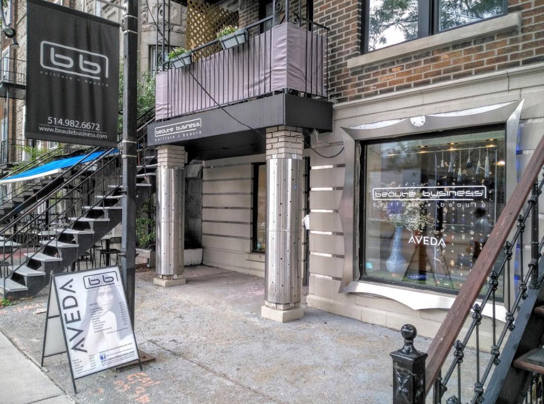 Salon de coiffure sur Saint-Denis a Montreal - Beaute business