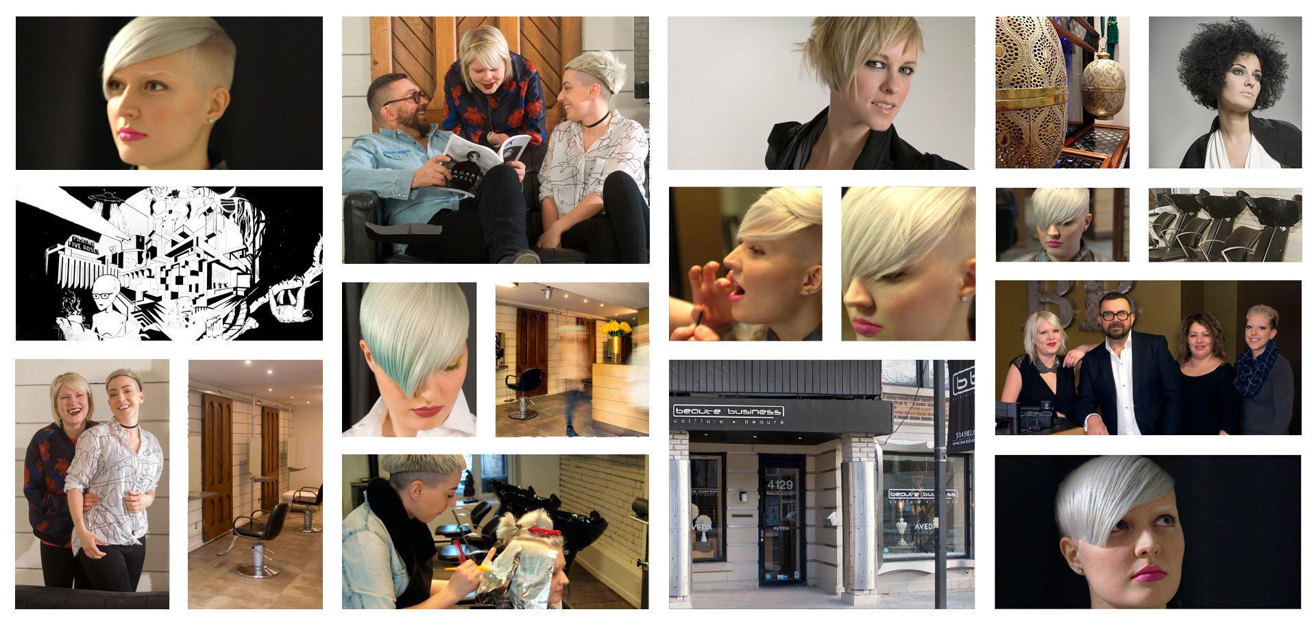 Coupe de cheveux pour femme, homme et enfant à Montréal - Beauté Business